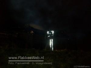 Huisje uitgebrand op Sommelsdijkse Haven Middelharnis