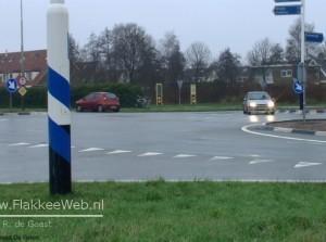 Aanrijding N215 Sommelsdijk