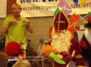Sinterklaas zat vast