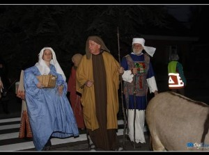 Kinderkersttocht 'Van Nazareth naar Bethlehem'