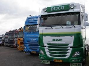 Video en foto's Truckshow voor Kanjerketting