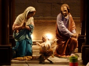 Kerststallen te kijk in de Rooms Katholieke Kerk Middelharnis