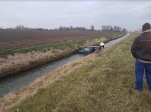 Eenzijdig ongeval N59 ter hoogte van viaduct Zuidzijde