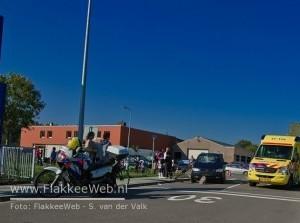 Fietser aangereden kruising De Hofjes Molenweg Middelharnis
