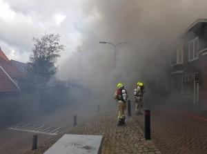 [video] Grote woningbrand Molendijk Ooltgensplaat