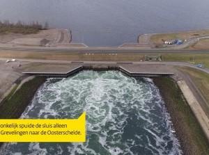 Officiële oplevering Flakkeese Spuisluis in de Grevelingendam