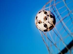 Voetbalwedstrijd Stellendam 1 - Vierpolders 1