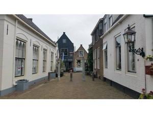 Historisch stadje Goedereede op eiland Goeree-Overflakkee
