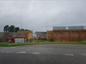 Middelbrand verdeelstation Oudelandsedijk Middelharnis