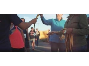 Lokale omroep RTV Slogo maakt film 33e Bloemfontein Strandloop