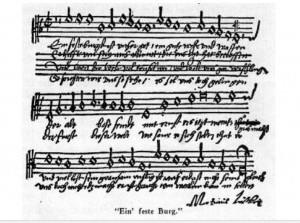 Het Lutherlied als bron van inspiratie in de orgelmuziek