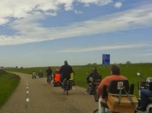 Scootmobieltocht PGGO vanuit Sommelsdijk