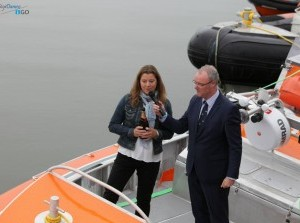 Video doop nieuwe reddingboot KNRM Reddingstation Stellendam