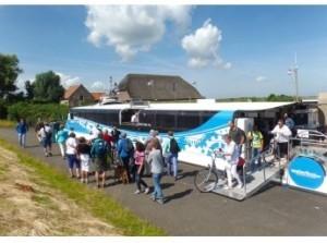 Tickets Waterbus Haringvliet ook aan boord te koop!