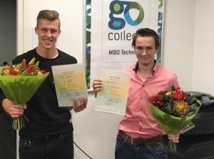 Twee leerlingen praktijkonderwijs halen diploma