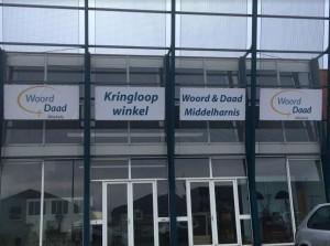 Zomeropruiming bij Woord en Daad Kringloopwinkel Middelharnis