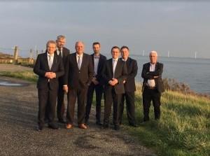 SGP Kamerlid Roelof Bisschop op bezoek in Oostflakkee