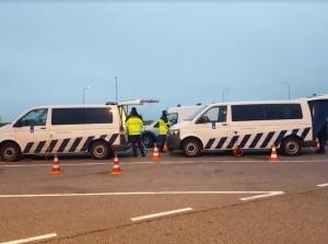 Video tweede groteverkeerscontrole politie: Donkere Dagen Offensief