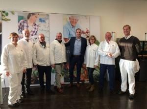 Collegeleden Goeree-Overflakkee brengen bedrijfsbezoek in Oude-Tonge
