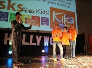 Kinderen dansen voor KiKa Goeree-Overflakkee