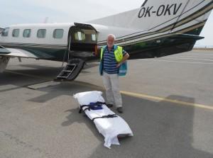 Repatriëringsverpleegkundige Rinus Pannekoek spreekt bij PCOB G-O