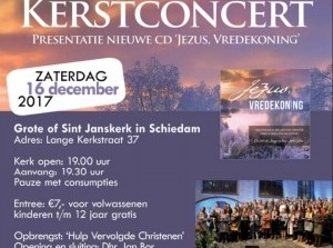 Traditioneel Kerstconcert met Chr. Jongerenkoor & Mannenensemble Jigdaljahu