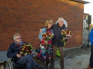 Video feestelijke onthulling steen in Refugium Sommelsdijk