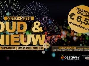 Oud & Nieuw Party in De Staver Sommelsdijk