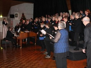 Kerstviering ASVO met diner en kerstzang in Oude-Tonge
