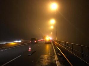 Haringvlietbrug A29 weer open na lekke banden-drama vrijdagavond