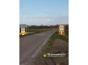Aanrijding motor, bromfiets kruising Hoofddijk, Oostdijk Goedereede
