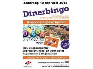 Tweede Diner-bingo voor Kika ivm volgeboekte eerste avond