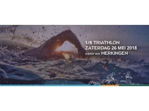 Achtste triathlon bij jachthaven in Herkingen