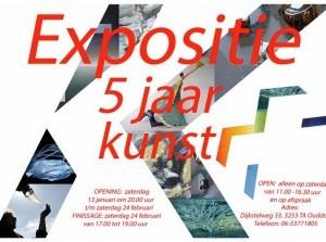 Nieuwjaarsreceptie KunstPlus in Ouddorp