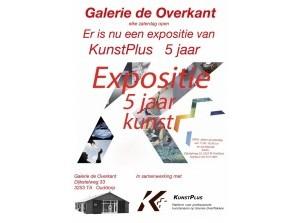 Expositie KunstPlus 5 jaar in de Overkant