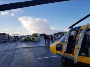 Helikopterlandingsplaats carpool Schaapsweg
