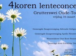 4Koren Lenteconcert in de Grutterswei