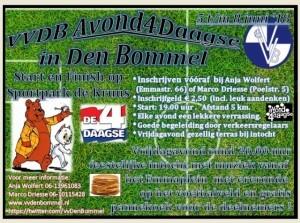 Vv Den Bommel blaast Avondvierdaagse nieuw leven in
