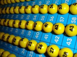 Bingo bij de 55+ club  in Ouddorp