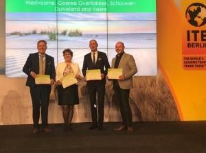 Goeree-Overflakkeeook benoemd totbesteduurzame kustbestemming wereldwijd