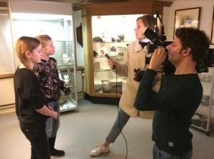 RTL4 op bezoek in het Streekmuseum Goeree-Overflakkee