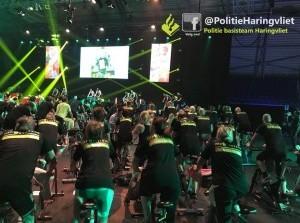 Politie Haringvliet was bij Topsportcentrum Rotterdam