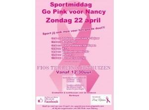 Doe mee met sportmiddag Go Pink voor Nancy