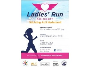 Derde Ladies' Run for Charity bij Stellendam