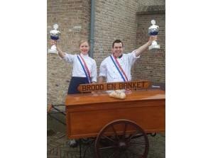 Goud voor Lynda en Jan op NK Brood- en Banketbakken