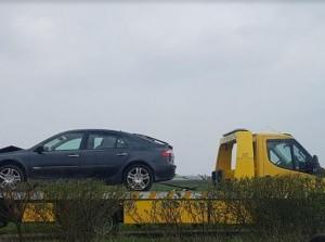 Meerdere kop-staartbotsingen N215 Langeweg Middelharnis
