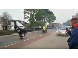 [video brommers] Toeleven naar Koningsdag Goeree-Overflakkee