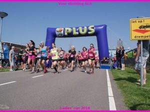 Ladies' Run for charity: geweldige opbrengst en prachtige opkomst