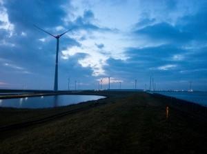Vliegtest als onderdeel van proef naderingsdetectie windmolens