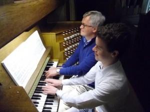 Paul en Auke Kieviet concerteren in kerk Middelharnis
